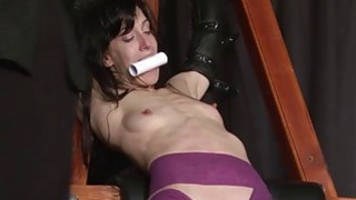 Extreme slave Elise Graves tit tormented and elect thumb
