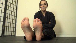 Sasha karate_feet joi thumb