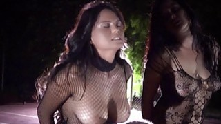Busty slaves hard bdsm played on_the playground thumb