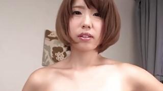 JAPAN HD Japanese Teen cums and makes cum thumb