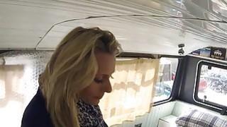 Fake cop anal bangs blonde in banging bus thumb