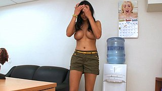 Lacey Cruz in BangBros offices thumb