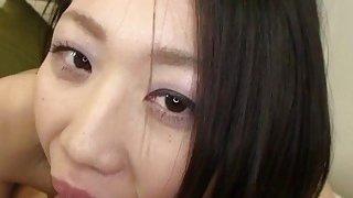 Subtitles uncensored Japanese blowjob and sex POV thumb
