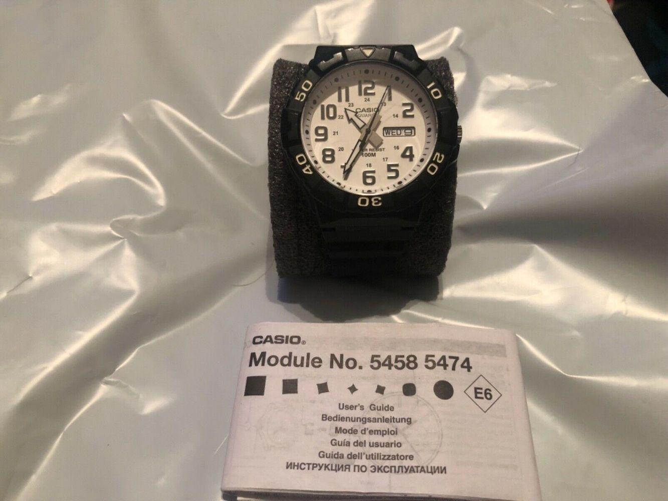 Casio Men's Black Sports Watch. 5474. MRW-210H. Watch Works/Functioning Smooth   WatchCharts