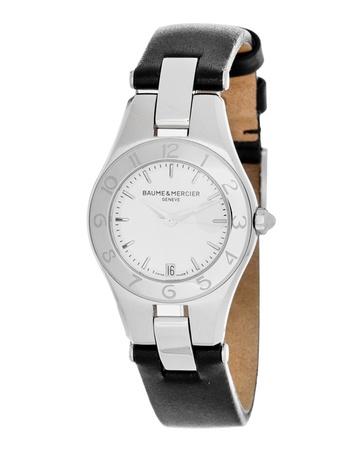 Baume Amp Mercier 10036 Linea Quartz Womens Watch