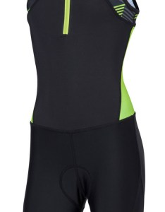 xu youth unisex active half zip trisuit black retro neon green ct  also rh watersportsoutlet