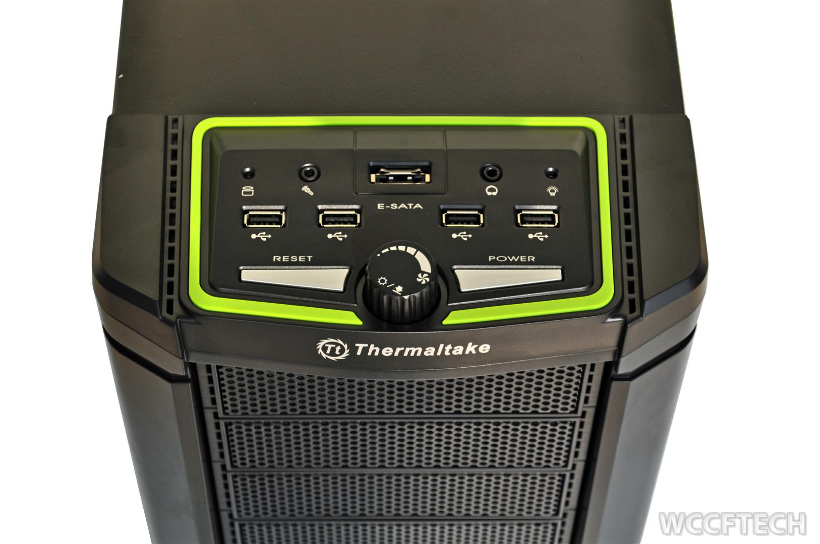 Thermaltake Element V Nvidia Edition Chassis Review  With Added Green Goodness