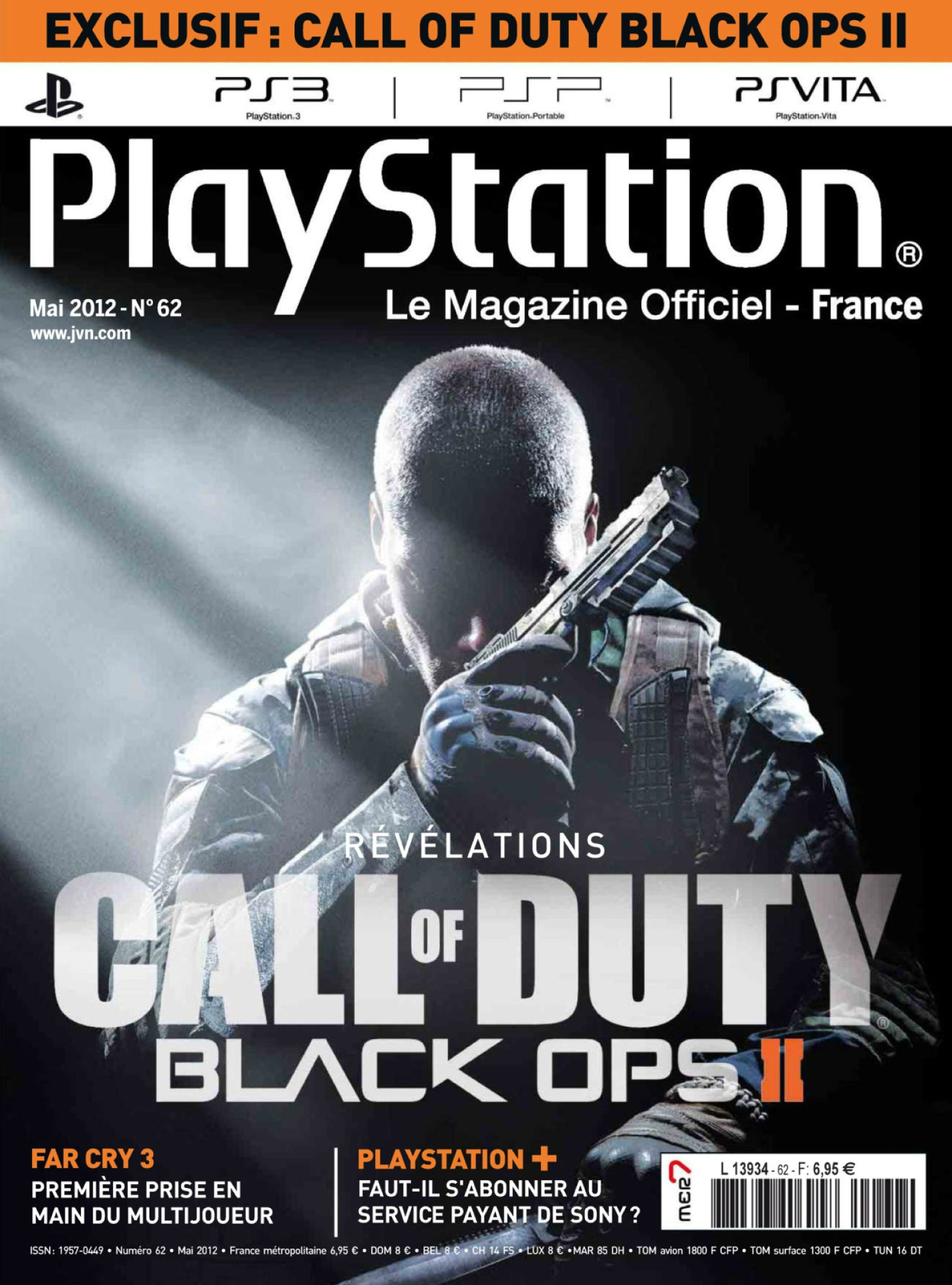 Official Call of Duty Black Ops II Scans detailed by PlayStation Magazine France