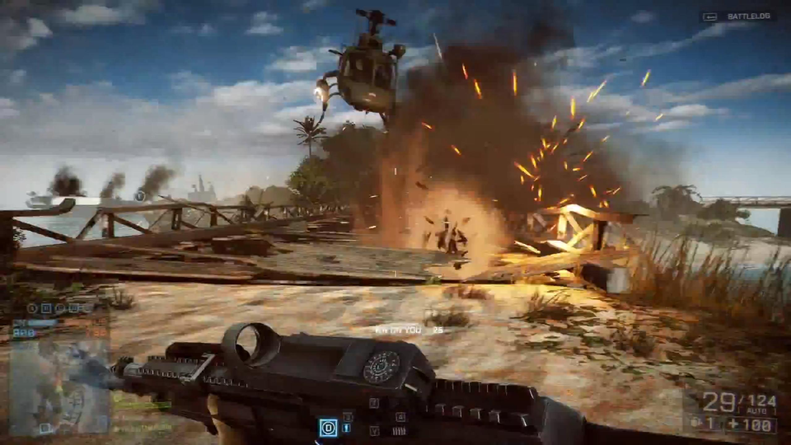Battlefield 4 Multiplayer Trailer Shows New Maps Intense Action And Loads Of Ways To Kill Your Foes
