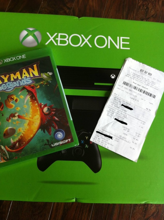 Best Buy Accidentally Sells Xbox One Consoles With Rayman