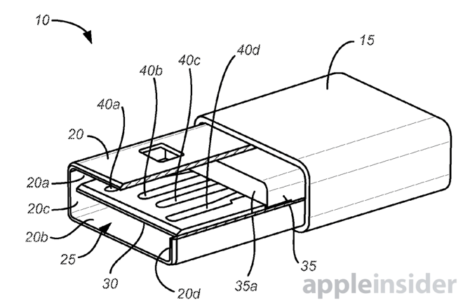 Patent Filing Confirms Apple Interest In Reversible USB