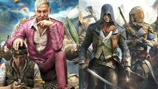 نتيجة بحث الصور عن assassin creed vs far cry