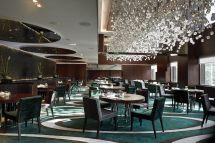 Hotels Mira the Luxury Restaurant Design Chandeliers