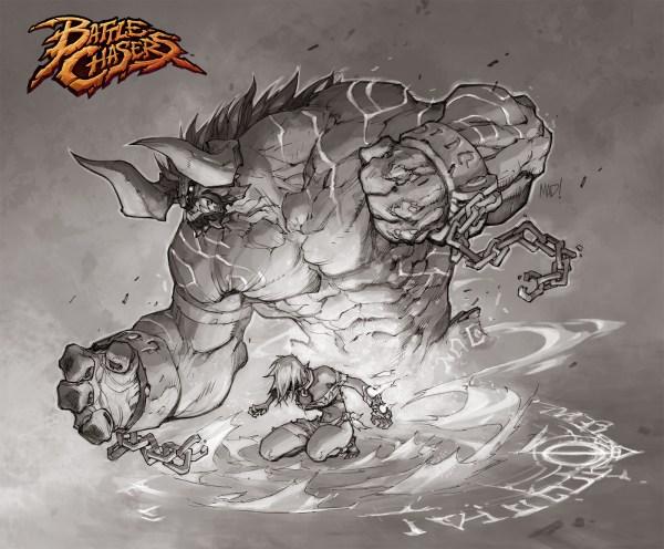 Joe Madureira Battle Chasers Art