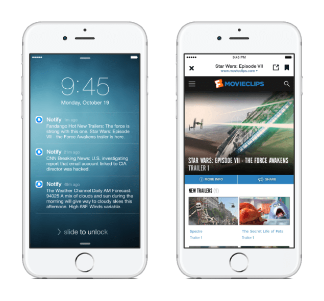 Facebook Releases New 'Notify' App For iPhone Users