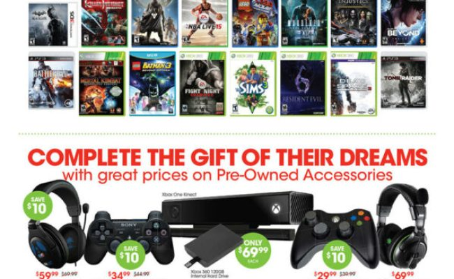 Gamestop Announces Pre Black Friday Sales Event Check