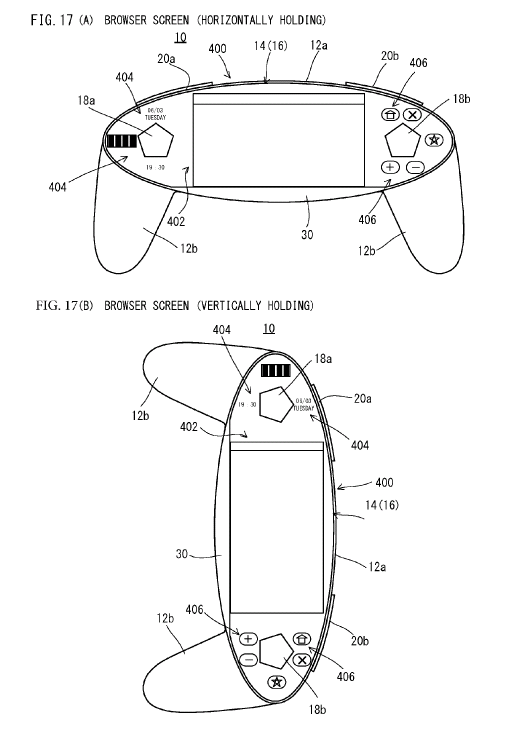 Nintendo Files Patent For Full Touchscreen Controller