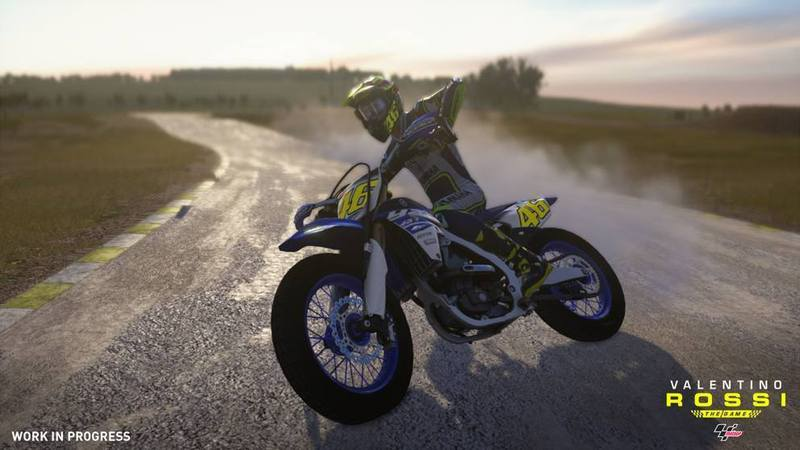 Motorcycle And Car Drift Wallpaper Valentino Rossi The Game Gets First Screens From The Ranch