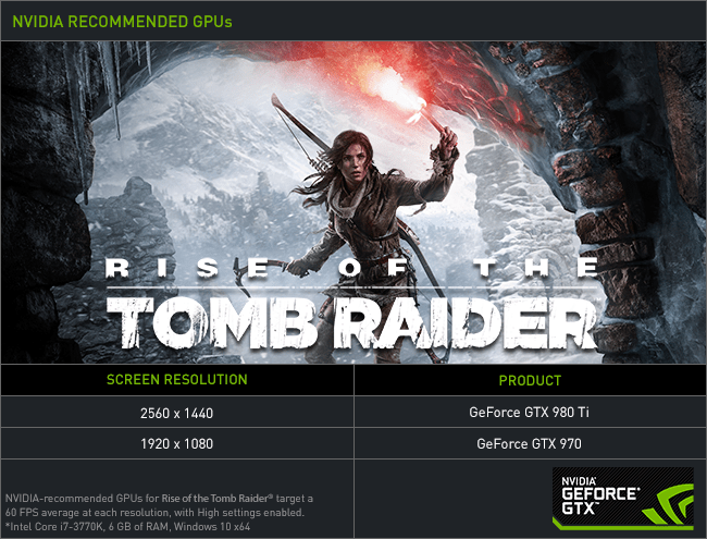 You also gain packs for reaching certain thresholds by completing expedition challenges. Rise of The Tomb Raider PC Performance Analyzed - NVIDIA and AMD Cards Tested With Pure Hair and ...