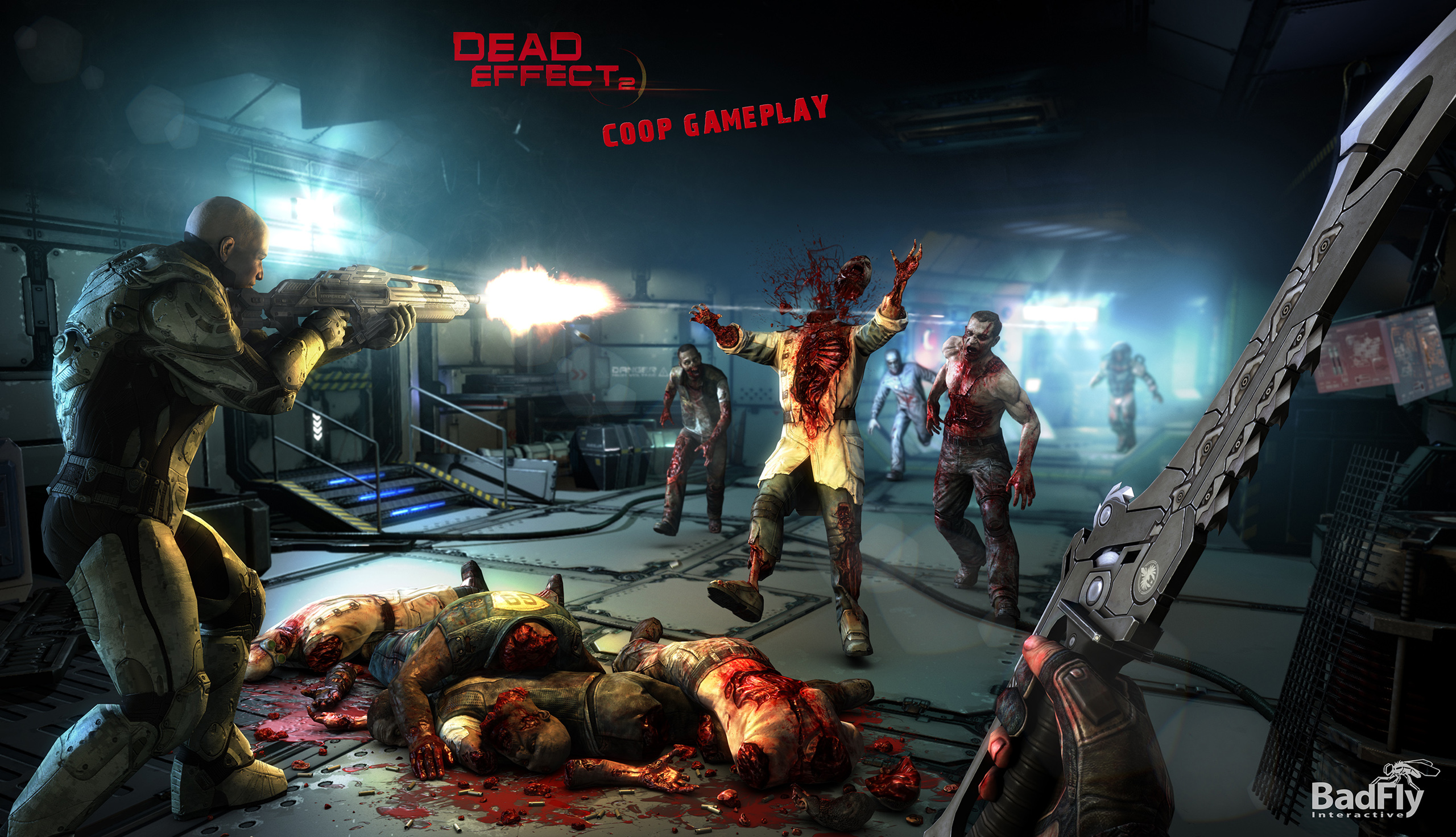 Gear Wallpaper Hd Sci Fi Fps Dead Effect 2 Out Now On Pc Due In June For