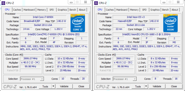 Intel Core i7-6950X Specs