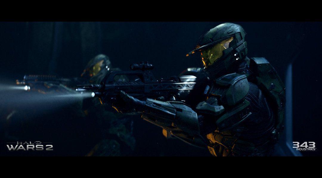 Halo Wars 2 campaign cutscene