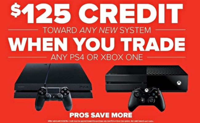 Gamestop Is Offering A Brand New Playstation 4 Slim Xbox