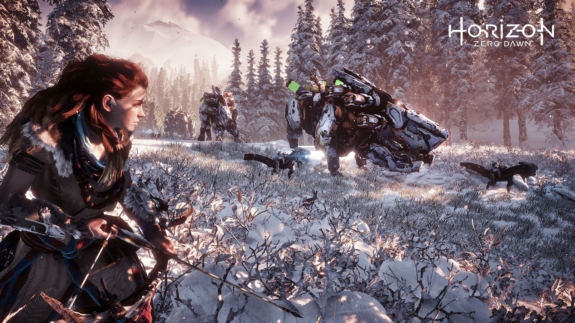 Image result for horizon zero dawn 1920x1080 gameplay