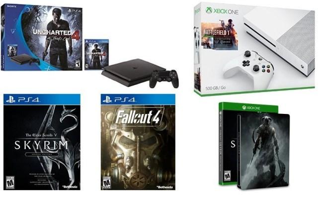 Amazing Amazon Black Friday Ps4 Slim Uncharted 4 Fallout