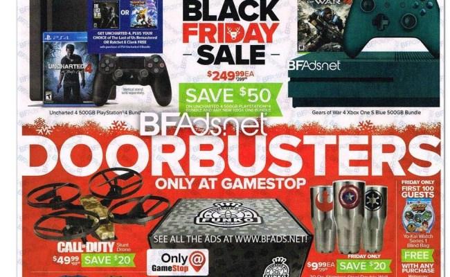 Gamestop Black Friday Deals Include Xbox One Console Bundles
