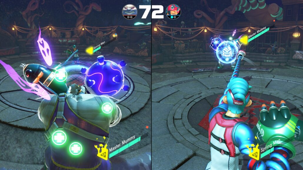 ARMS Review A Handy Fighter Though Repetitive