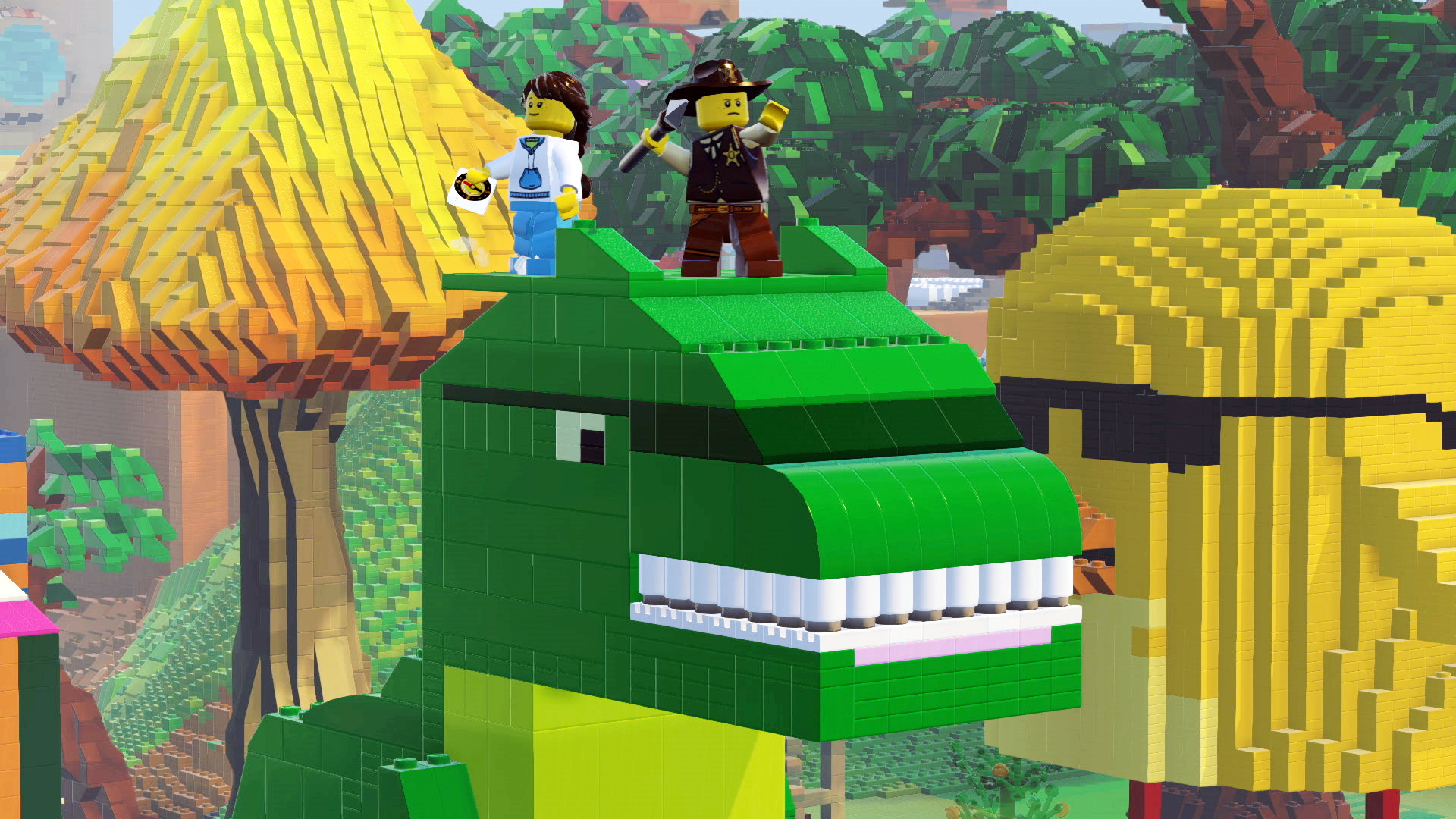 LEGO Worlds Review Building On Childhood Memories