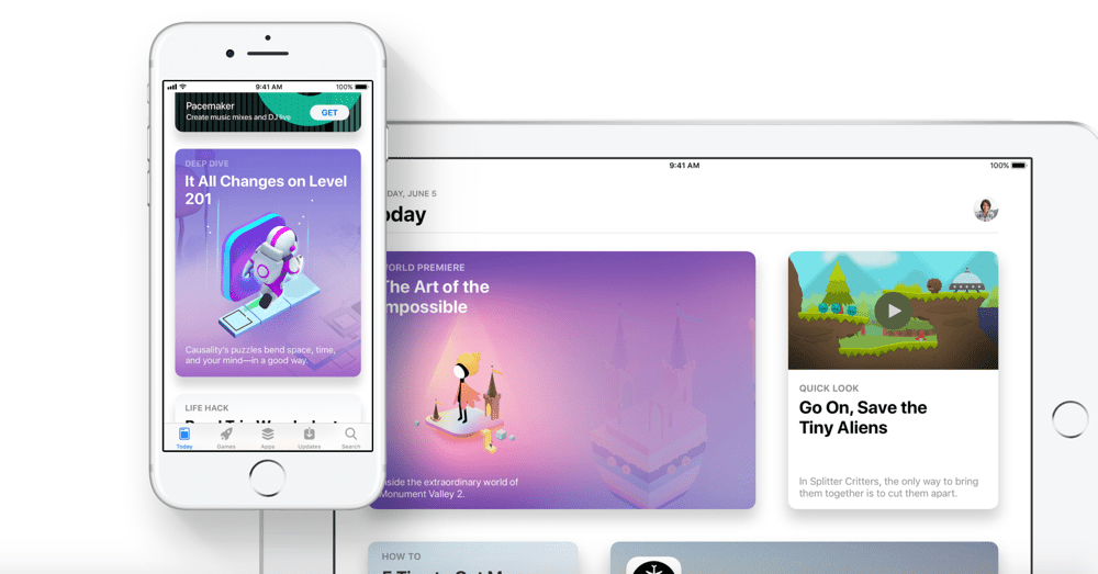the app store turns