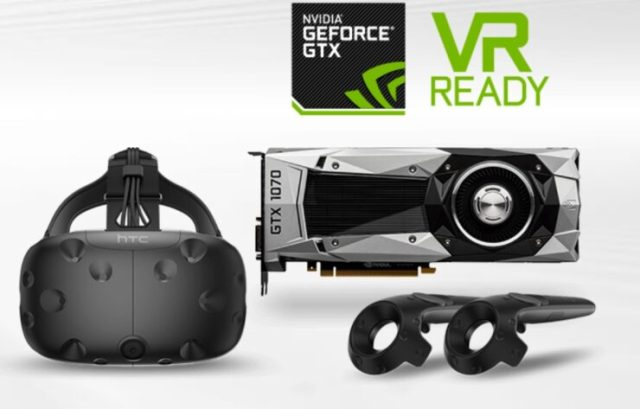 htc vive 1070 bundle 740x473 HTC teams up with Nvidia to give a $799 package containing an HTC Vive, a GTX 1070 and a Fallout 4 VR