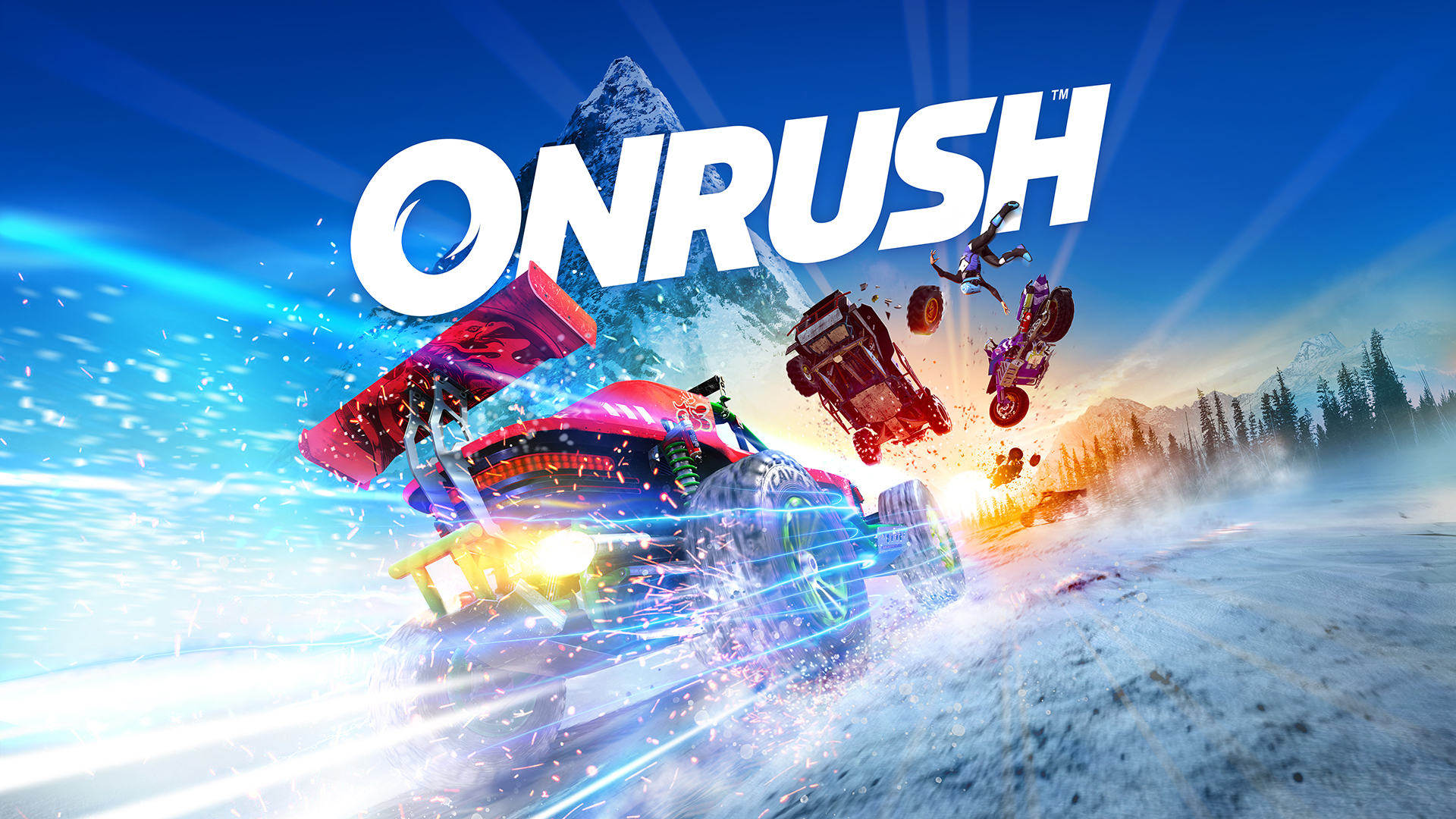 Arcade Racing Game ONRUSH Due On June 5th Pre Order