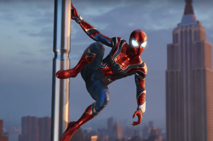 SpiderMan PS4 WebSwinging Gets Further Details Game May
