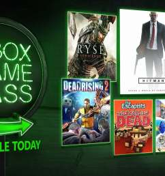 new xbox game pass games for august include hitman season 1 ruiner ryse son of rome and more 0 02 9  [ 1920 x 1080 Pixel ]