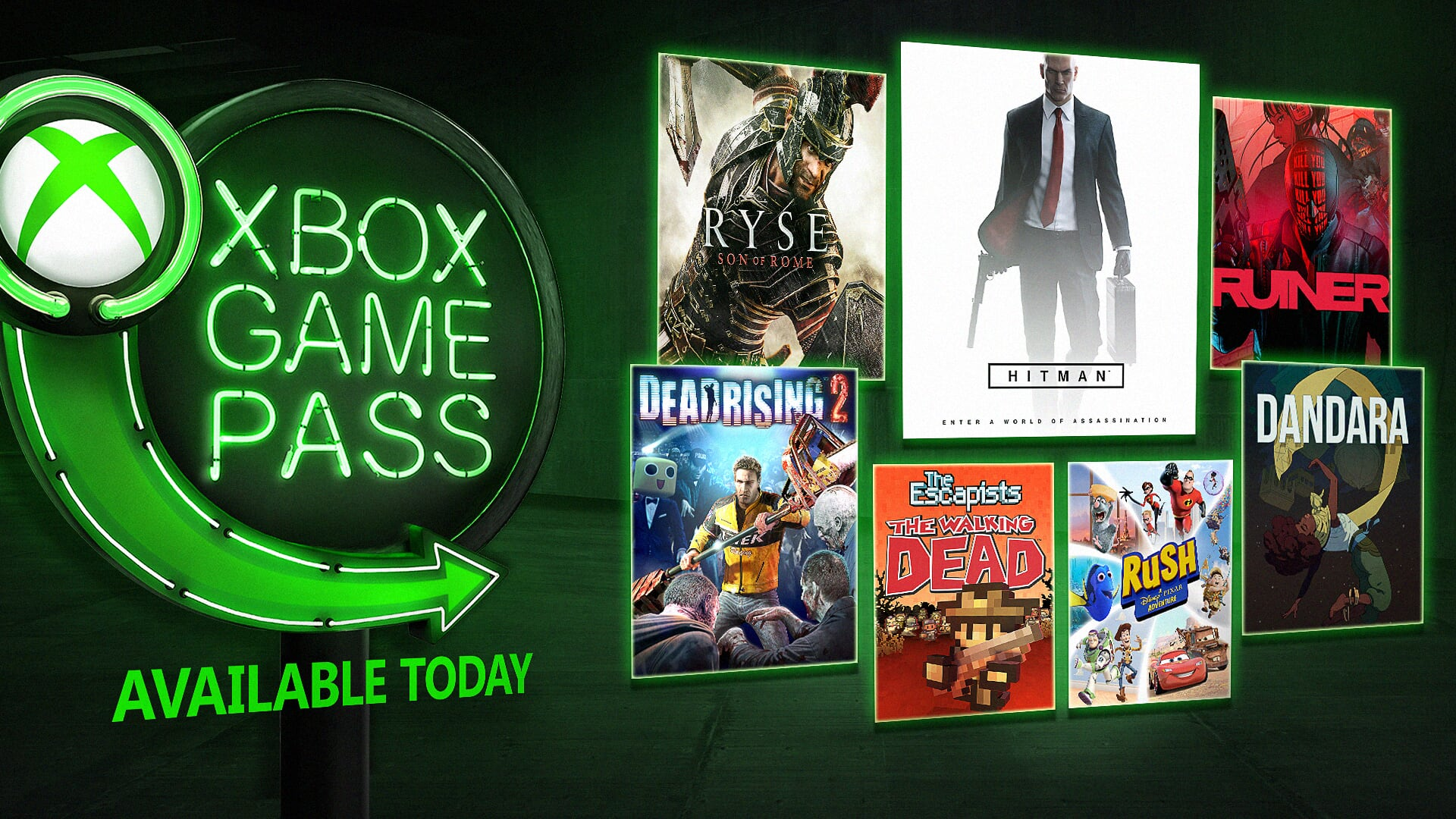 hight resolution of new xbox game pass games for august include hitman season 1 ruiner ryse son of rome and more 0 02 9