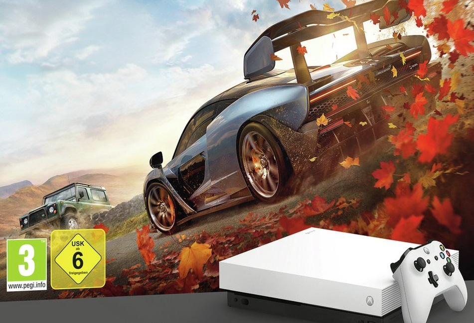 White Xbox One X Forza Bundle Surfaces Comes With Forza