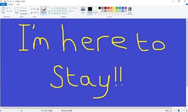 Microsoft MS Paint