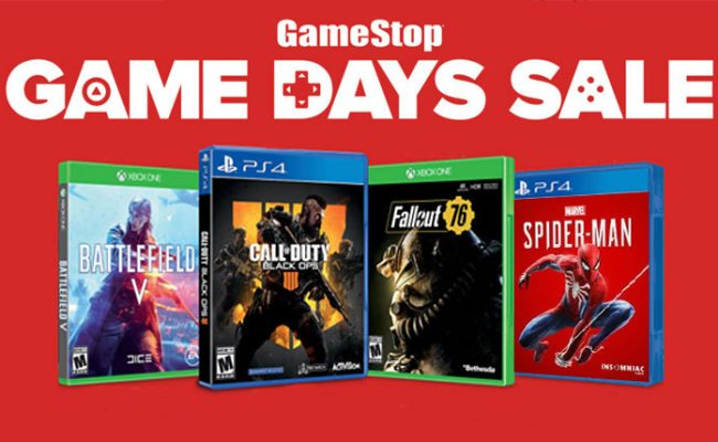 Gamestop Game Days Sale Offers Last Minute Deals On