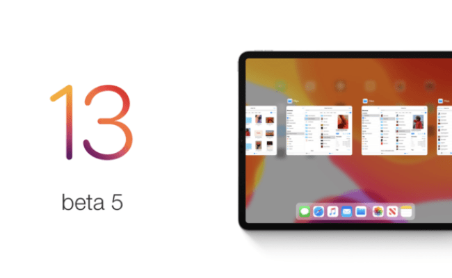 Ios 13 Beta 5 Download Now Available For Iphone Ipad