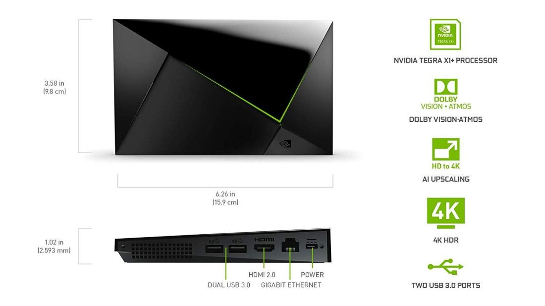Nvidia Shield TV 4K HDR