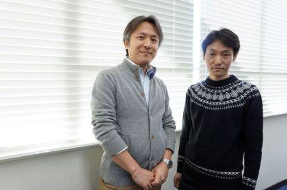 كوسوكيه تاتسومورا (على اليسار) و هاياتو غوتو (على اليمين) | عبر وكالة بلومبرغ