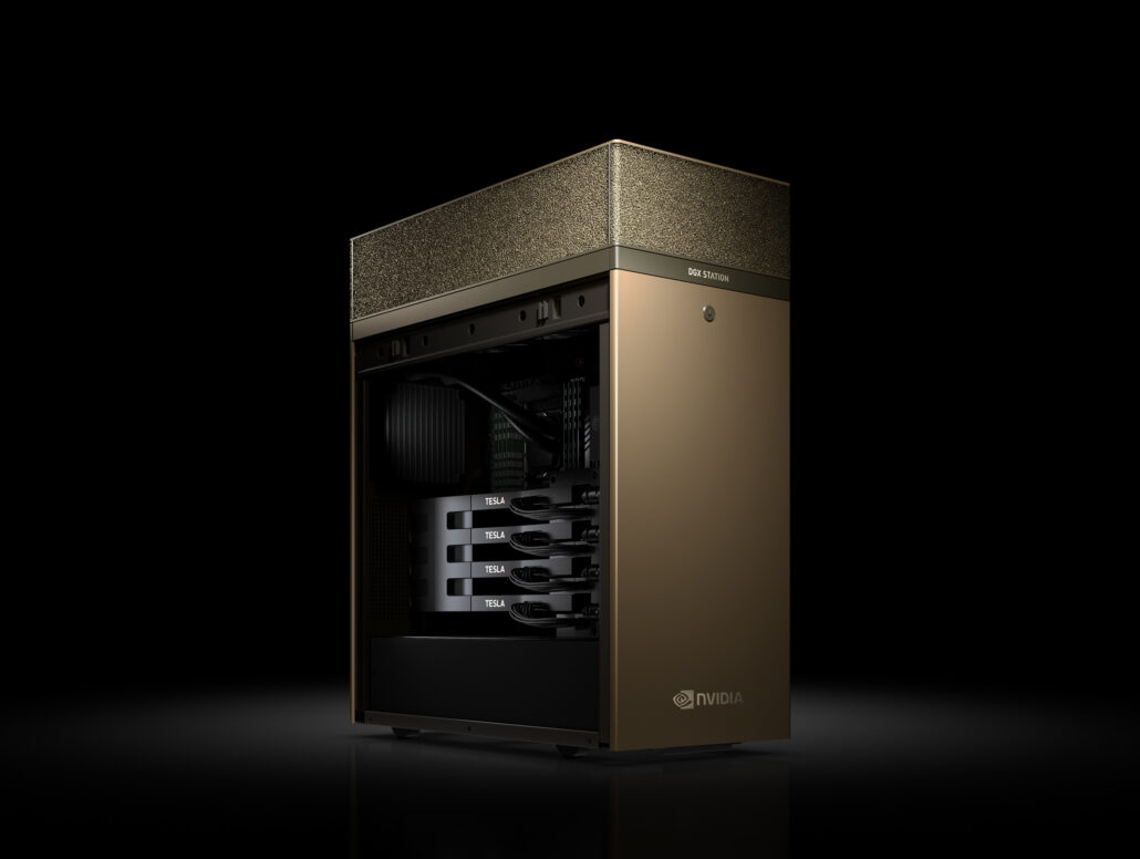 NVIDIA DGX A100 System Powered By Ampere GA100 GPU Spotted
