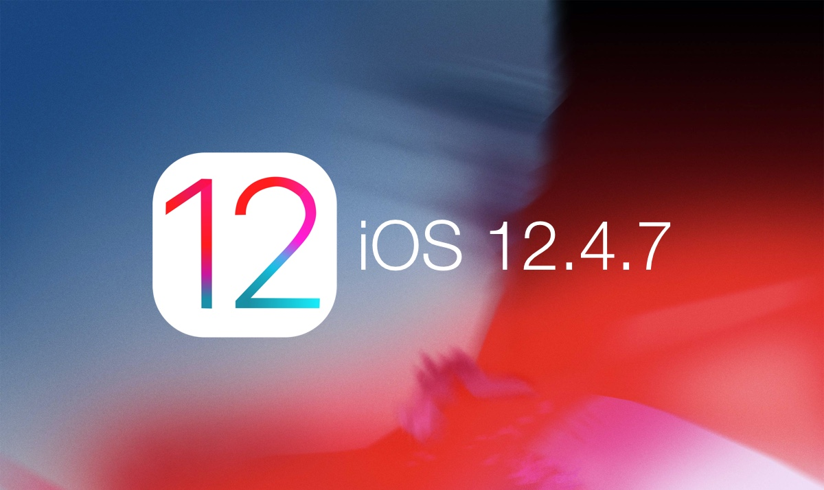 Download: iOS 12.4.7 for iPhone and iPad with Bug Fixes