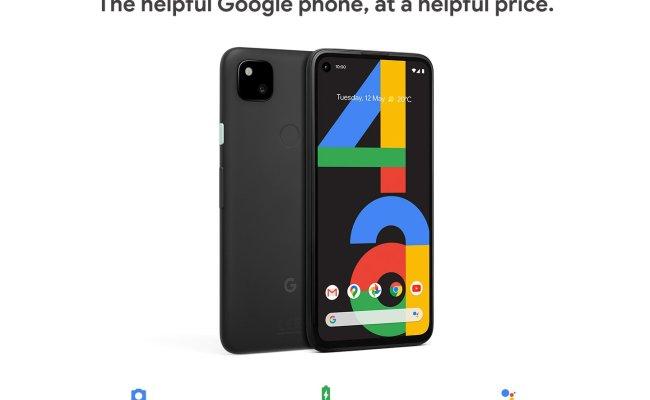 Google Pixel 4a Is A Helpful Google Phone At A Helpful