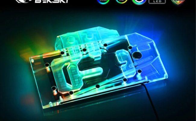Bykski Unveils Geforce Rtx 3090 Geforce Rtx 3080 Water