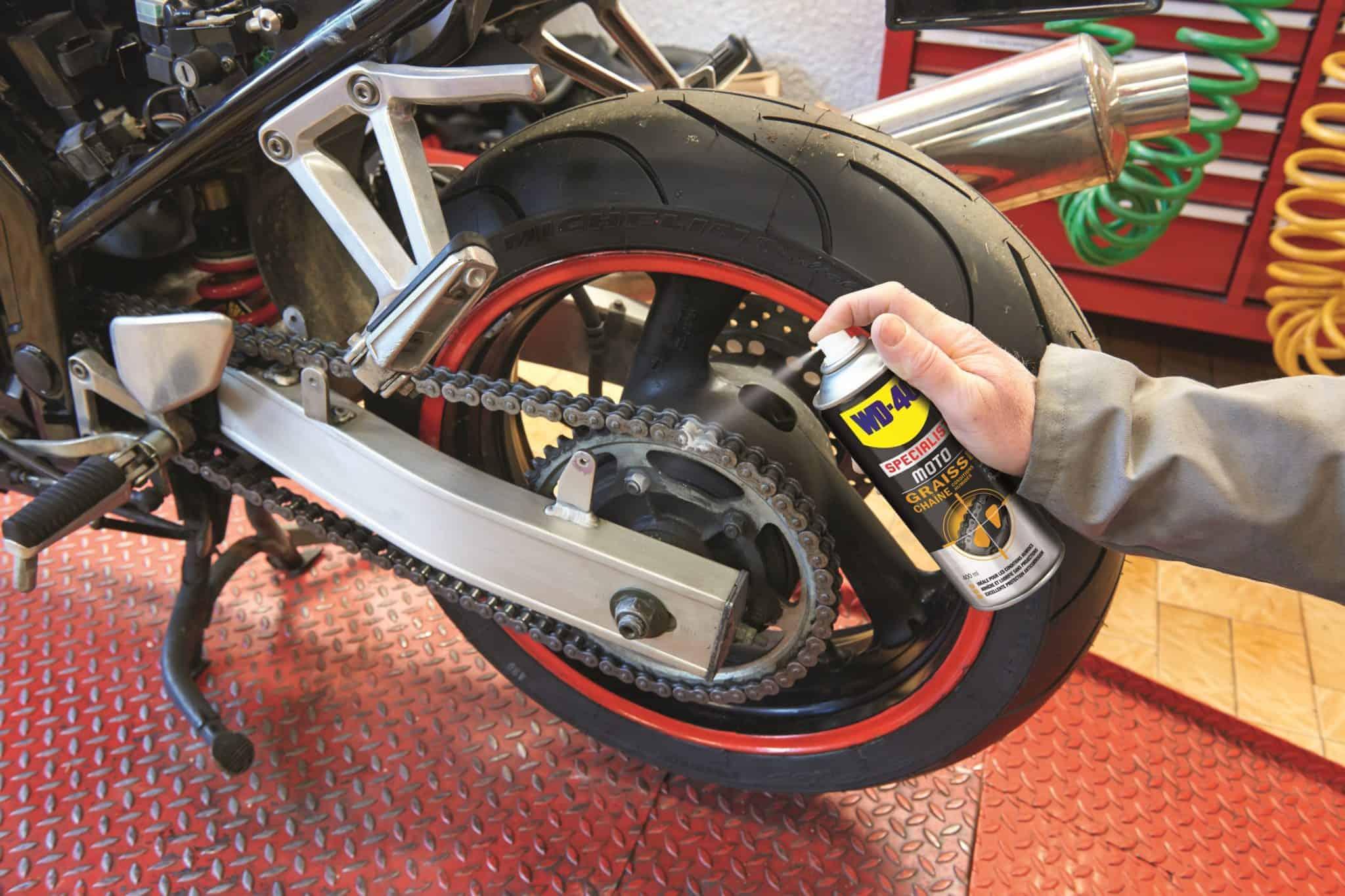 Graisse Chane Moto Dans Quelles Conditions Lutiliser