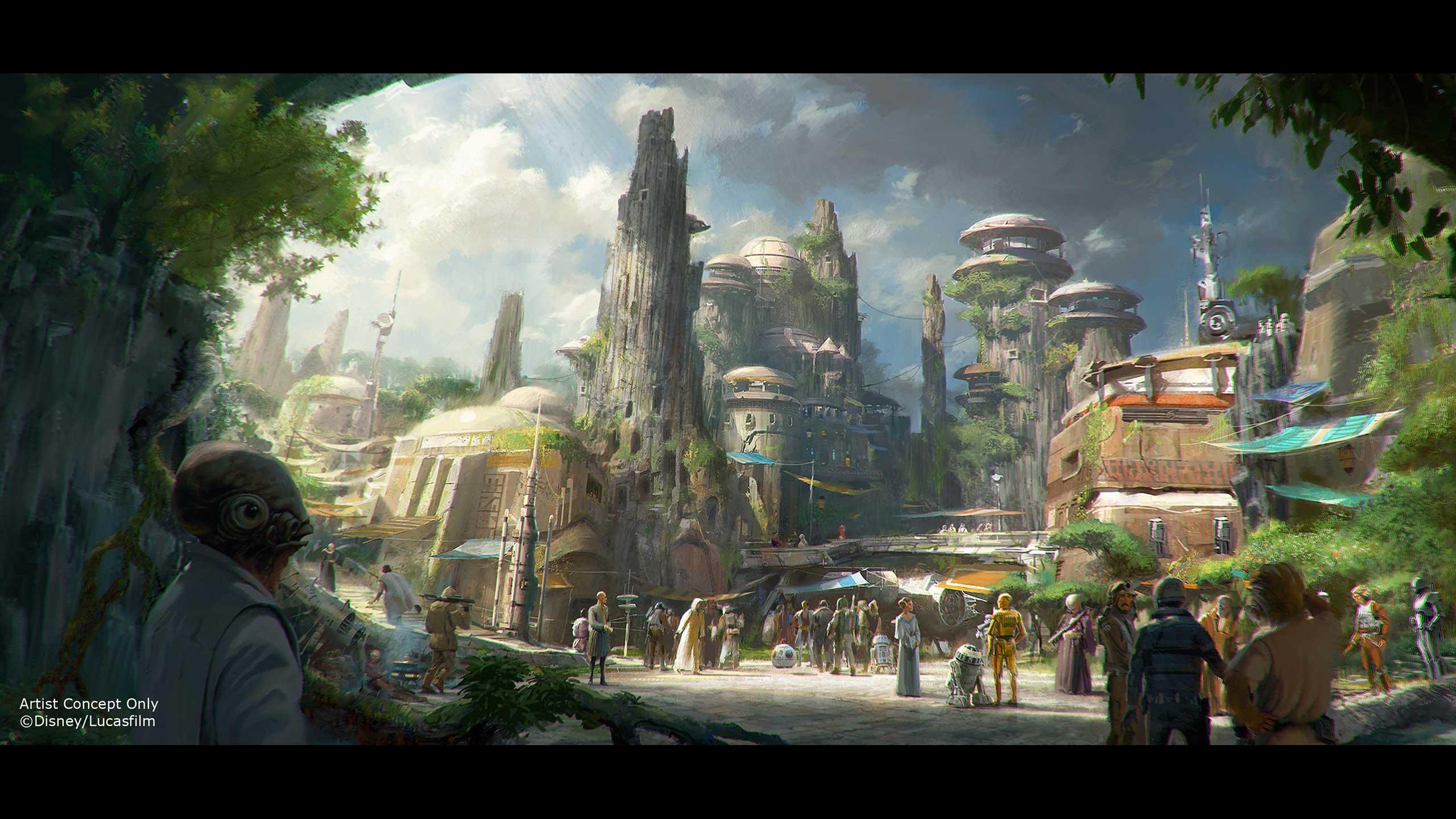 Walt Disney World' Star Wars Land Break Ground In 2016